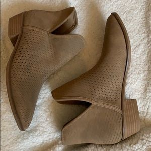 Merona Brindle Ankle Boots NWOT